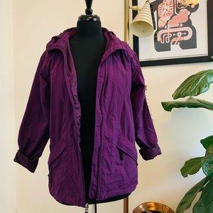 Vintage | 90s Purple LL Bean Windbreaker